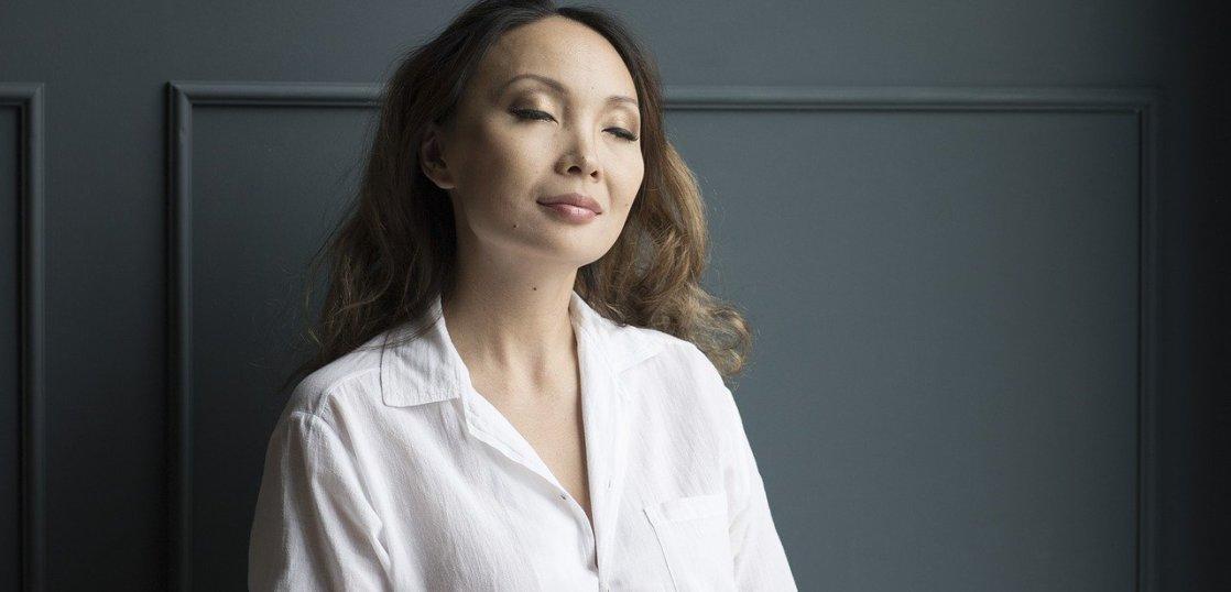 妊婦の瞑想